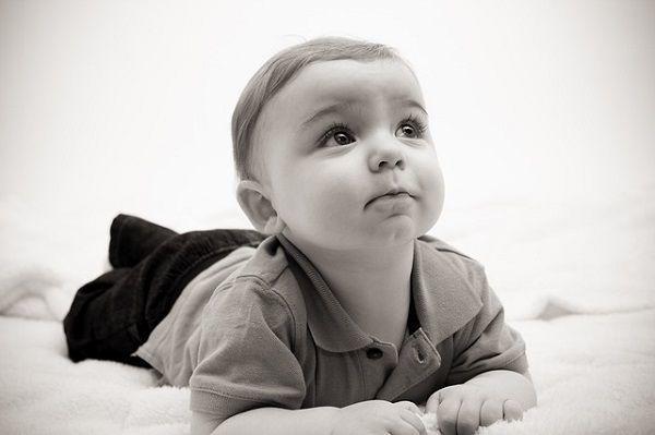 セピアの赤ちゃん