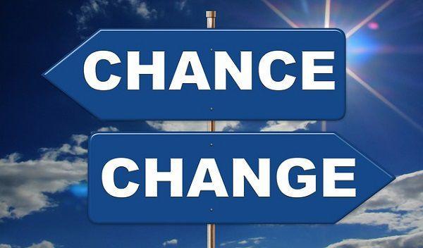変化はチャンス!