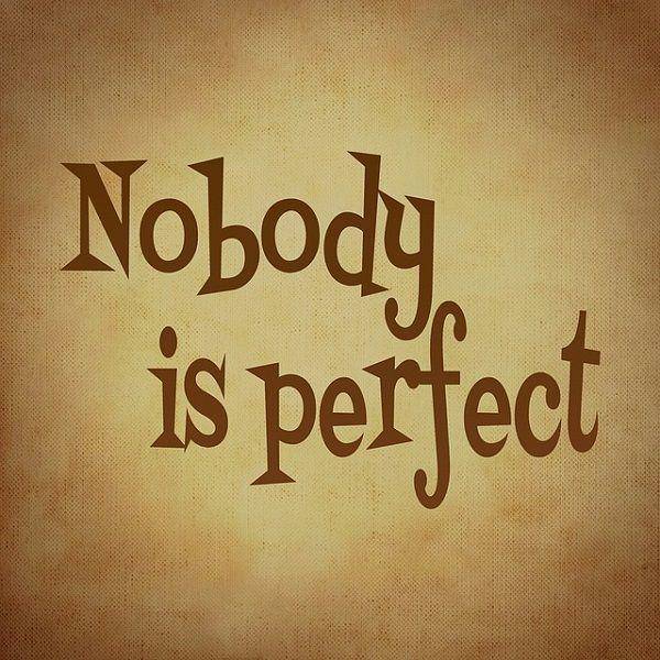 完璧な人間などいない