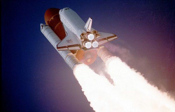 スペースシャトル発射!