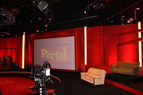 TV番組のスタジオ