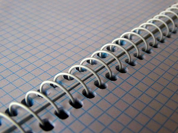 見開きのノート