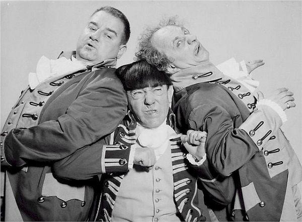 3人のコメディアン
