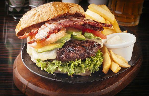 ハンバーガープレート