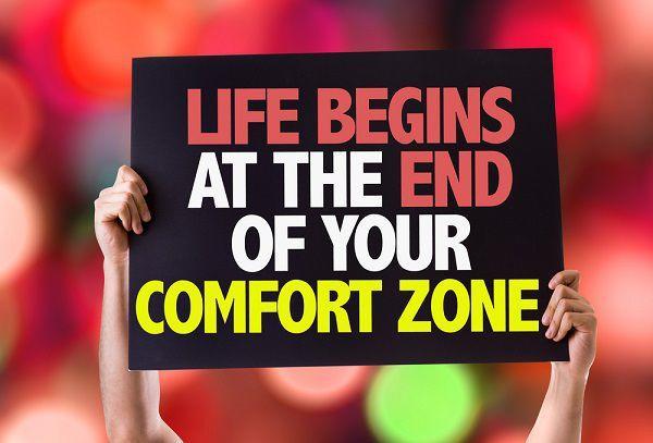 コンフォートゾーンを抜けて人生をはじめる!