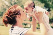 赤ちゃんと新米ママ