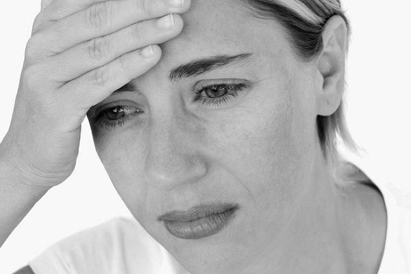 ストレスを抱える看護師