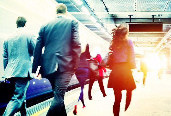 通勤ラッシュで感じる違和感