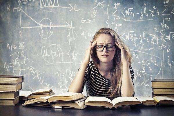 勉強によるストレス