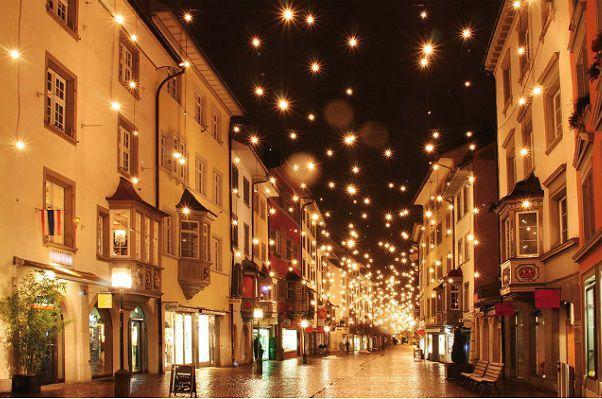 12月の街