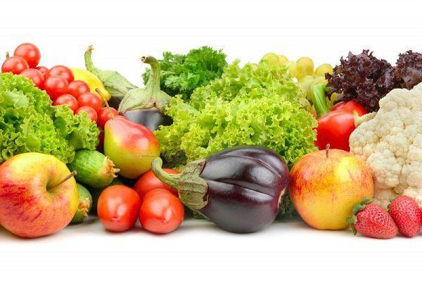 大量の生野菜