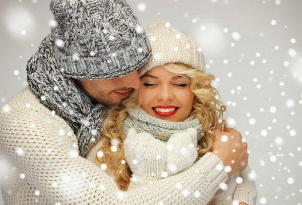 クリスマスのカップル