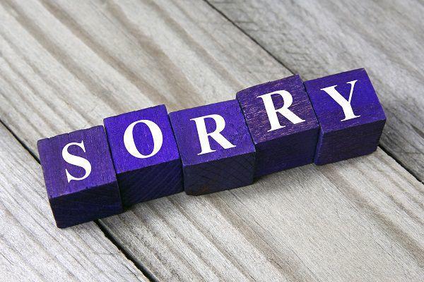上手な謝罪とは