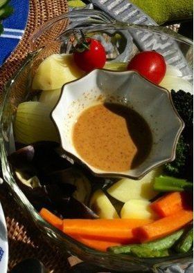 蒸し野菜料理1