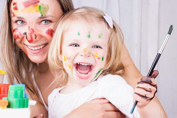 ママと楽しむ子供