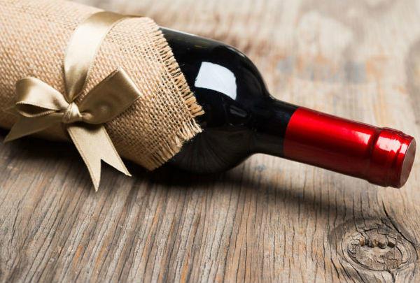 ワインを贈る