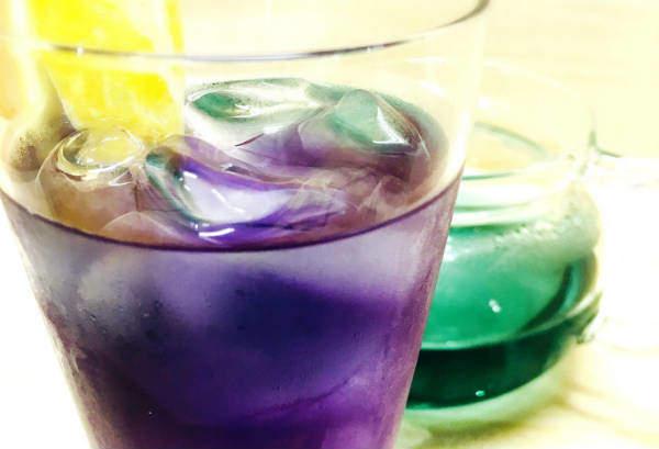 青の花茶は1日1杯