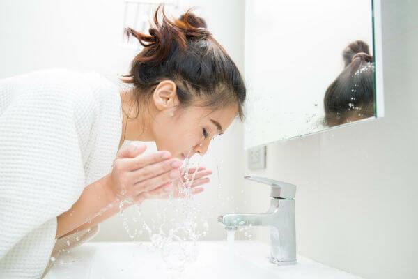 スキンケアの基本は洗顔