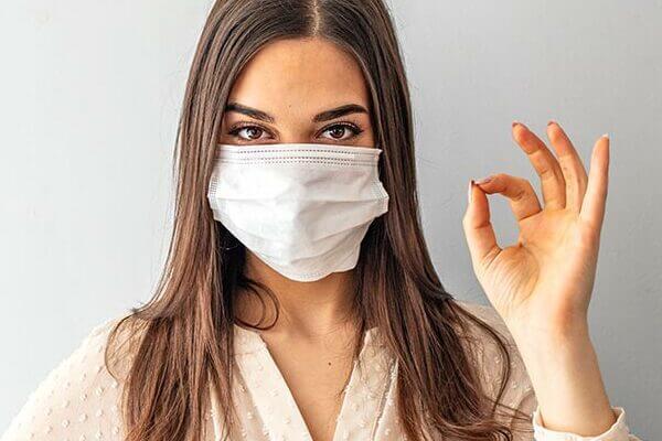 マスク焼け対策