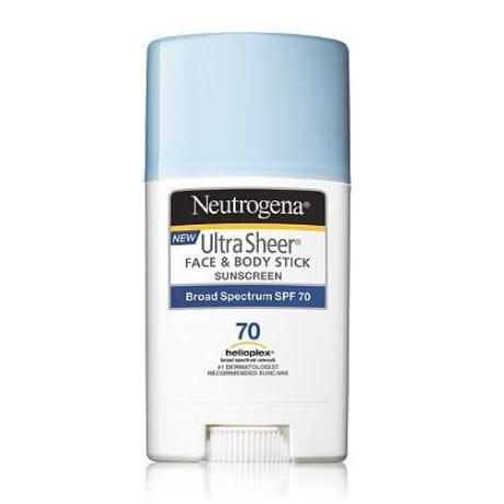 Neutrogena 日焼け止め ニュートロジーナ FACE & BODY用スティックタイプ SPF70